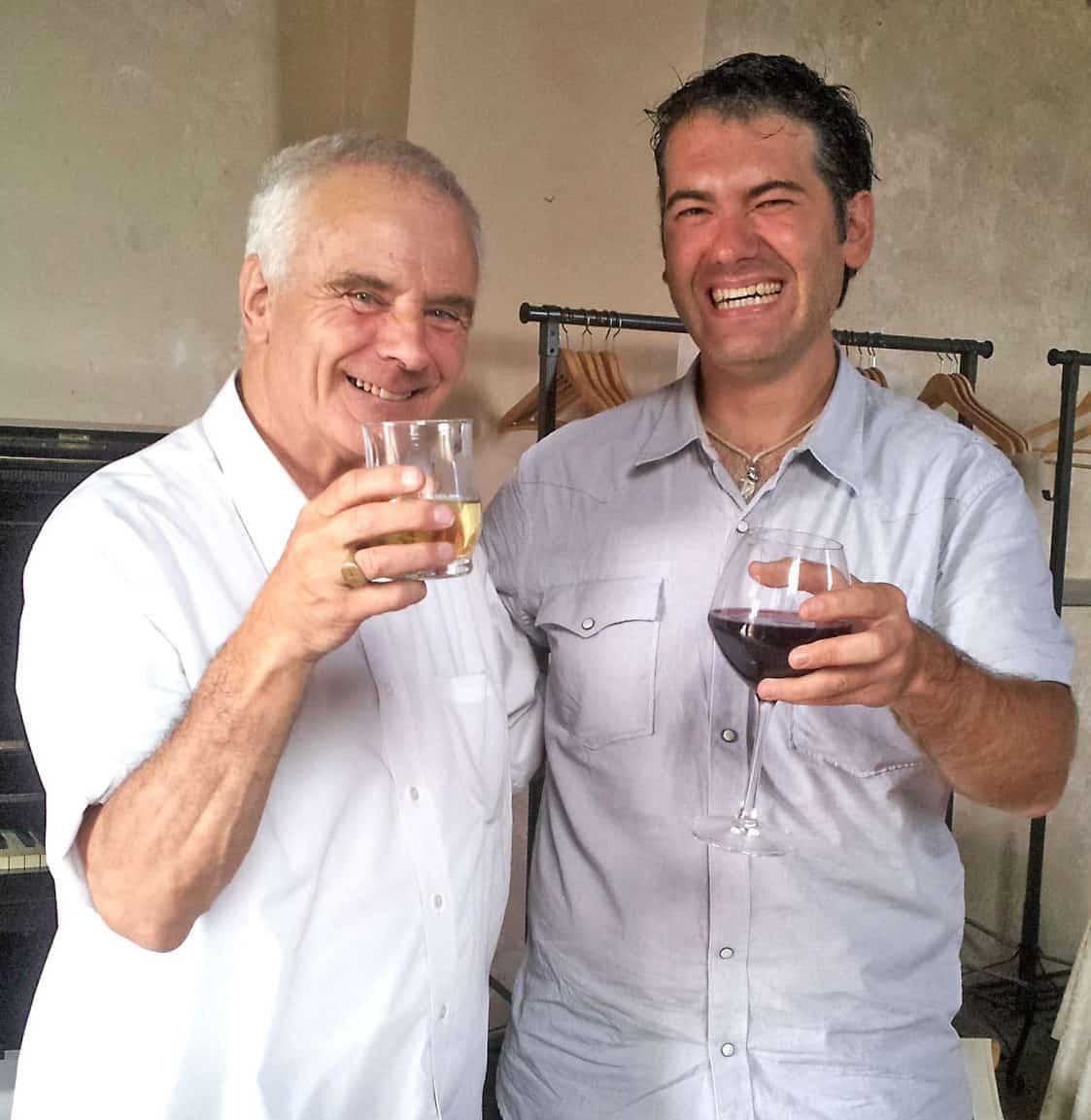 Sir Peter Maxwell-Davies e Roberto Brambilla