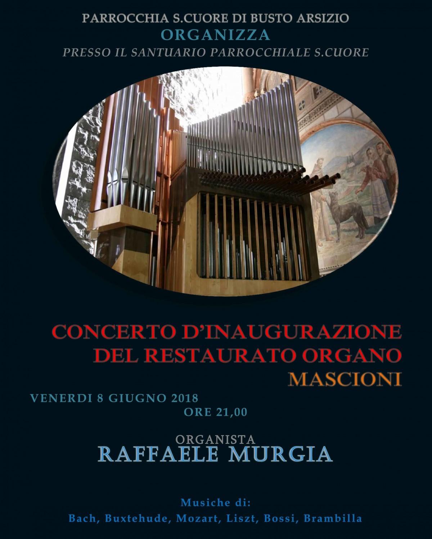 Concerto il giorno del Sacro Cuore a Busto Arsizio (Va)